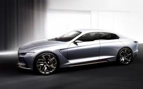 Wallpaper Concept, the concept, Hyundai, Genesis, Genesis, Hyundai