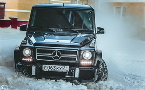 Picture winter, snow, Mercedes-Benz, photographer, before, photography, photographer, All-terrain vehicles, GORELOV FILMS PRODUCTION