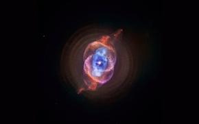 Picture nebula, nebula, cat's eye, cat's eye, ngc 6543