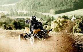 Picture photo, race, speed, Sport, ATV