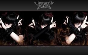 Picture kawaii, music, metal, rock, flower, dress, fox, gothic, model, pretty, singer, ninja, asian, pose, mask, …