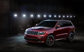 Picture light, Night, Jeep, Grand Cherokee