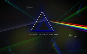 Picture prism, Pink Floyd, Progressive rock, the dark side of the moon, album cover