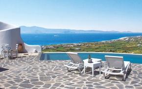 Picture Villa, pool, terrace