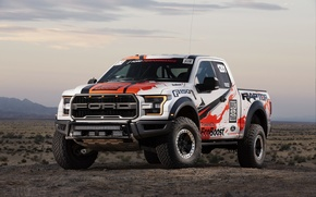 Picture Raptor, 2017, Ford F-150, Race Truck