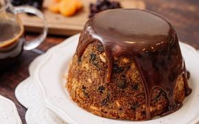 Wallpaper glaze, cakes, chocolate, cupcake