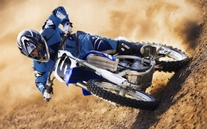 Wallpaper motorcycle, motocross, sand
