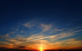 Picture the sky, Sunset, Moscow, sun, Moscow