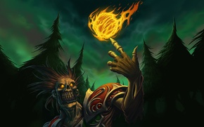 Picture WoW, World of Warcraft, undead, fireball