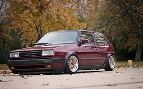 Picture Volkswagen, Golf, Tuning, Mk2 GTI