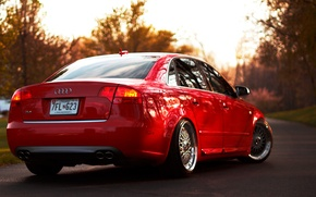 Picture Audi, audi, red, red, bbs