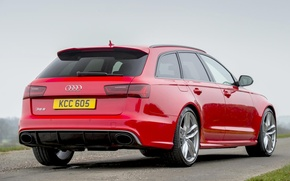 Picture Audi, Performance, Before, Back, RS6