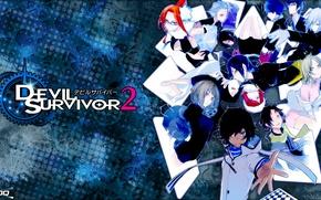 Picture Anime, The Heir Of The Devil, The Animation, Devil Survivor 2