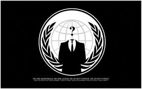 Wallpaper anonymous, hack, logo, logo, group