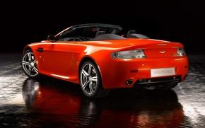 Picture Aston Martin, Auto, Convertible, Orange, vantage, Aston Martin, N400