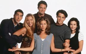 Picture the series, Jennifer Aniston, actors, Matthew Perry, characters, Comedy, sitcom, Ross Geller, Lisa Kudrow, Matt …