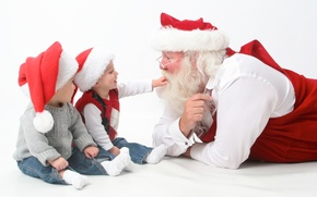 Picture christmas, happy, holidays, merry, children, santa, claus, interview, new year