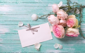 Picture roses, bouquet, pink, flowers, soft, roses