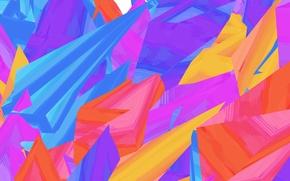 Picture line, paint, color, figure