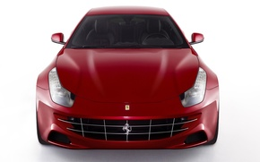 Picture red, Auto, Ferrari FF