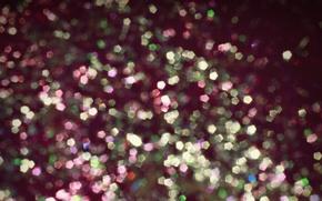 Wallpaper lights, bokeh, colorful