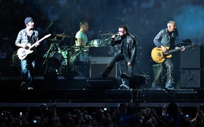 Picture touring, U2 In Concert, rock and roll