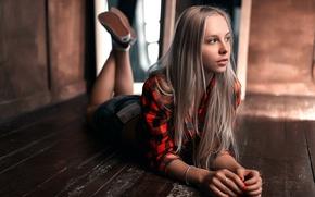 Picture cell, shirt, Kate, the beauty, Stepan Gladkov, Stepan Gladkov