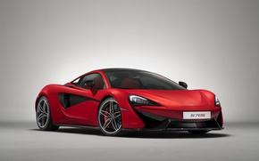 Picture car, McLaren, red, logo, supercar, Vermillion, 570s, McLaren 570s, 570s Vermillion, P Zero, McLaren 570s …