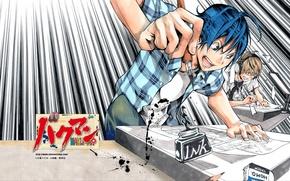 Picture pen, manga, ink, Bakuman, mashiro moritaka, akito Takagi