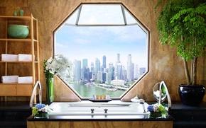 Picture Singapore, Hotel, bathroom