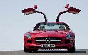 Picture Fire, Mercedes, Car