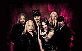 Picture metal, metal, Nightwish, sympho, Floor Jansen