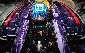 Picture Racer, Formula 1, Red Bull, Vettel, Champion, Pearls, Sebastian, RB10