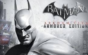 Picture the city, armor, cloak, Batman: Arkham City Armored Edition, Gotham, Batman: Arkham city