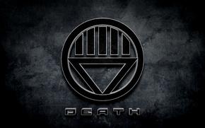 Picture comics, death, Black lantern