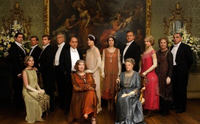 Picture interior, picture, the series, actors, drama, characters, Downton Abbey