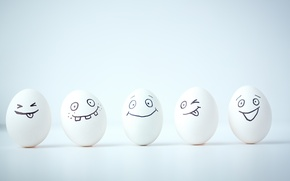 Picture smile, eggs, smile, smiley, face, eggs, funny