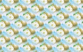 Wallpaper balls, art, background, texture, holiday, New year, balls
