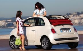 Picture Fiat, girls, 500C