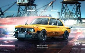 Picture bmw, speedhunters, racer, 1974, yasiddesign, inbound