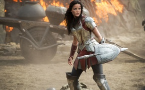 Picture Jaimie Alexander, Thor The Dark World, the Goddess, Thor kingdom of darkness