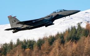 Picture cabin, McDonnell Douglas, Eagle, F-15C, the rise