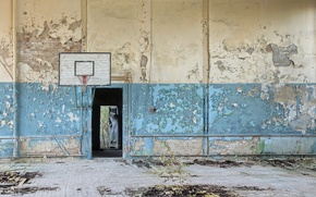 Picture sport, hall, basketball