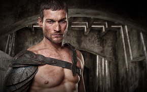 Wallpaper Blood and Sand, Andy Whitfield, Spartacus, Gladiator