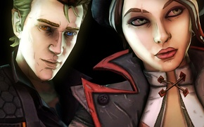 Picture look, Borderlands, Fiona, Rhys, Tale from the Borderlands