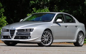 Picture Alfa Romeo, Alfa, Romeo, Tuning, Alfa 159, Autodelta, Alfa Autodelta, The Autodelta 159 J4 2.2 …