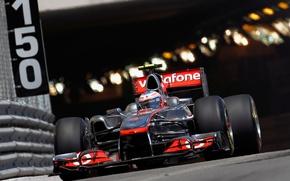 Picture Race, Track, Formula-1, 2011, The car, Jenson Button, Jenson Button, Formula 1, Track, Monte Carlo, …