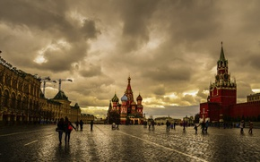 Picture Moscow, red square, capital
