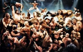 Picture Matt Hardy, Rey Mysterio, Umaga, CM Punk, WWE, Jeff Hardy, Kane, The Animal, EDGE, John …