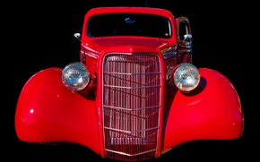 Picture retro, background, lights, grille